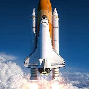 Ideen entwickeln funktioniert wie ein Raketenstart