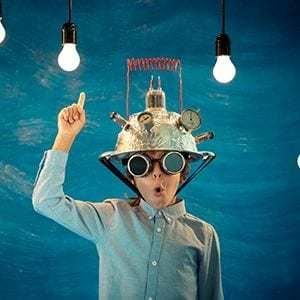 Kreativität hilft dabei Ideen zu entwickeln